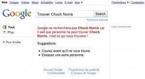 Les secrets de google funactu - Chercher chuck norris sur google ...